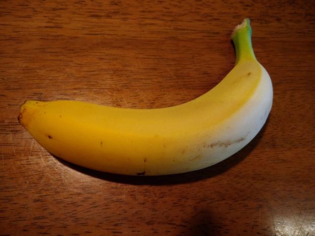 シュガースポット無しバナナ