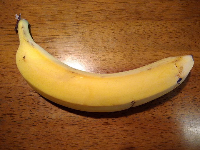 バナナ一本