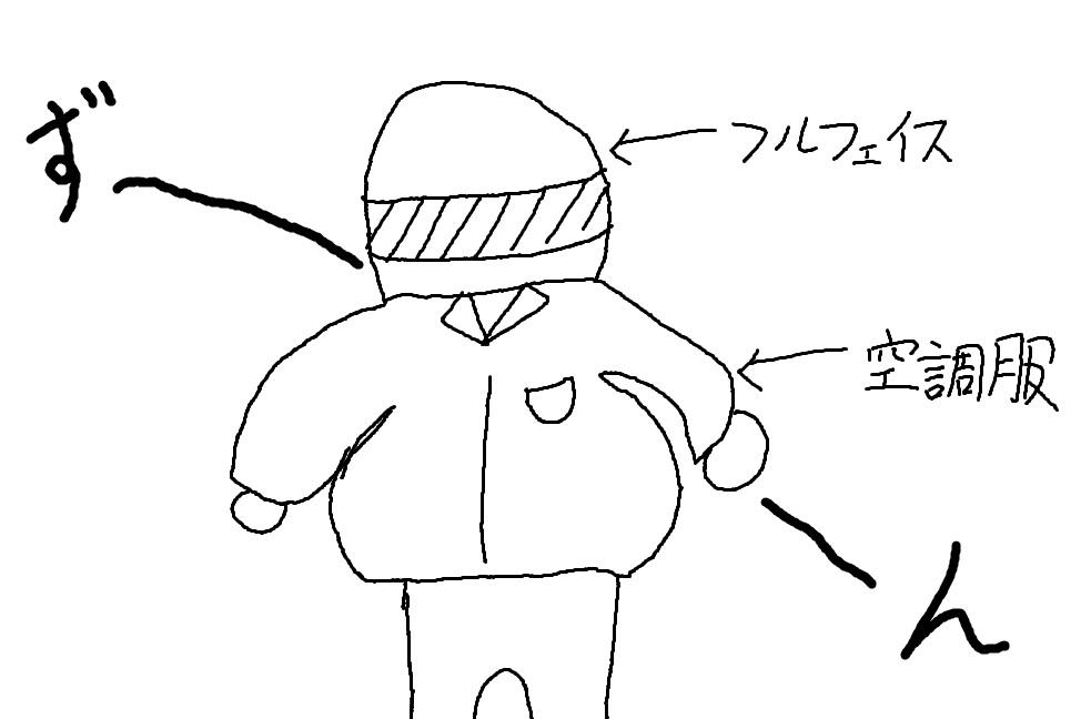 空調服フルフェイス